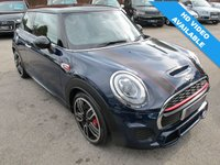 2015 MINI HATCH JOHN COOPER WORKS 2.0 JCW 3d 228 BHP LUXURY LAPIS BLUE + XENONS  £17499.00