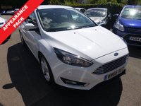 USED 2016 66 FORD FOCUS 1.0 ZETEC 5d 100 BHP ECOBOOST THIS VEHICLE IS AT SITE 1 - TO VIEW CALL US ON 01903 892224