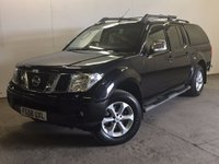 USED 2008 58 NISSAN NAVARA 2.5 AVENTURA DCI 4X4 SWB SHR D/C 1d AUTO 169 BHP SAT NAV LEATHER HARDTOP CANOPY FSH NO VAT NO VAT. 4WD. SATELLITE NAVIGATION. HARDTOP CANOPY. SUNROOF. STUNNING BLACK MET WITH FULL BLACK LEATHER TRIM. ELECTRIC HEATED SEATS, CRUISE CONTROL. AIR CON. SIDE STEPS. 17 INCH ALLOYS. COLOUR CODED TRIMS. PRIVACY GLASS. BLUETOOTH PREP. PAS. EW. MFSW. TOWBAR. MOT 07/18. FULL SERVICE HISTORY. FCA FINANCE APPROVED DEALER. TEL 01937 849492