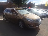 USED 2013 63 VAUXHALL ASTRA 2.0 SRI CDTI S/S 5d 163 BHP EXCELLENT FUEL ECONOMY!..LOW CO2 EMISSIONS..LOW ROAD TAX...FULL HISTORY...ONLY 19891 MILES FROM NEW!!..AUXILLIARY INPUT AND USB!!..