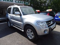 USED 2009 09 MITSUBISHI SHOGUN 3.2 GLX EQUIPPE SWB DI-D 3d 160 BHP Full Mitsubishi Service History, NEW MOT (to be completed), Four Wheel Drive, Diesel