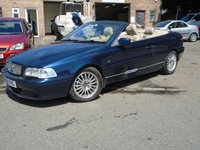 USED 2002 51 VOLVO C70 2.0 LPT 2d 161 BHP *GREAT VALUE CONVERTIBLE*