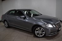 USED 2011 11 MERCEDES-BENZ E CLASS 2.1 E200 CDI BLUEEFFICIENCY AVANTGARDE 4d AUTO 136 BHP