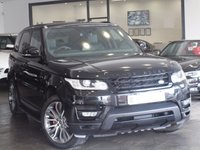 USED 2013 13 LAND ROVER RANGE ROVER SPORT 3.0 SDV6 HSE DYNAMIC 5d AUTO 288 BHP SLIDING PAN ROOF+SERVICE PACK