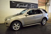 USED 2007 57 MERCEDES-BENZ M CLASS 3.0 ML320 CDI SPORT 5d AUTO 222 BHP