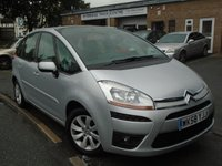 USED 2008 58 CITROEN C4 PICASSO 1.6 VTR PLUS HDI 5STR 5d 108 BHP **GREAT VALUE DIESEL MPV**