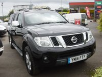 USED 2014 14 NISSAN NAVARA 2.5 DCI TEKNA 4X4 SHR DCB 188 BHP DOUBLE CAB PICK UP WITH FITTED SNUG TOP COVER WORTH £1440