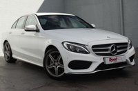 USED 2014 64 MERCEDES-BENZ C CLASS 2.1 C220 BLUETEC AMG LINE 4d 170 BHP 1 OWNER+ FULL MERCEDES HISTORY