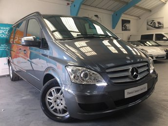 2012 MERCEDES-BENZ VIANO 3.0 122 CDI BLUEEFFICENCY AMBIENTE LWB 5d AUTO 224 BHP £19990.00