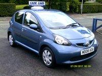 2008 TOYOTA AYGO 1.0 BLUE VVT-I 5d 68 BHP £3295.00