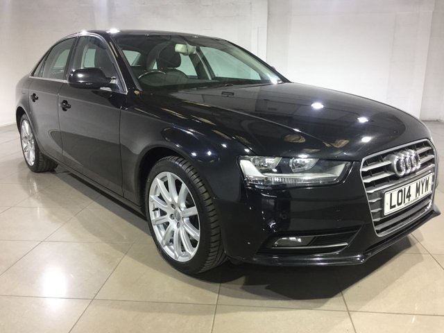 View our 2014 14 AUDI A4 2.0 TDI SE TECHNIK CVT 4dr