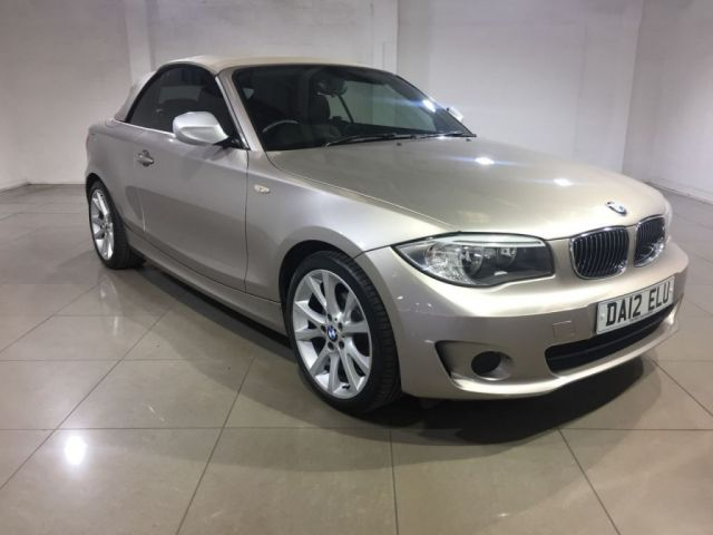 View our 2012 12 BMW 1 SERIES 2.0 118D EXCLUSIVE EDITION 2d 141 BHP