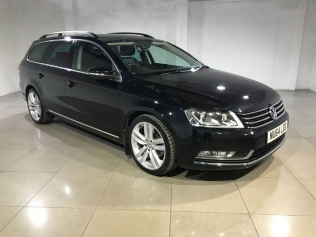 View our 2014 64 VOLKSWAGEN PASSAT 2.0 EXECUTIVE STYLE TDI BMT 5d 175 BHP