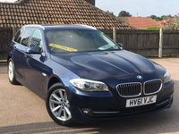 USED 2011 61 BMW 5 SERIES 2.0 520D SE TOURING Estate Auto 181 BHP