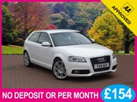 USED 2011 11 AUDI A3 2.0 TDI S LINE 3dr PRICE CHECKED DAILY – WHY PAY MORE ??