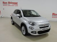 USED 2016 66 FIAT 500X 1.6 MULTIJET LOUNGE 5d 120 BHP