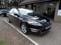 USED 2012 12 FORD MONDEO 1.6 TITANIUM X TDCI 5d 114 BHP ONLY £30 A YEAR ROAD TAX, FRONT AND REAR PARKING SENSORS, SONY CD PLAYER, KEYLESS START