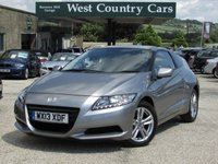 USED 2013 13 HONDA CR-Z 1.5 I-VTEC IMA SPORT 3d 113 BHP Only £30 For A Years Tax And 50MPG