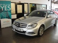 USED 2014 14 MERCEDES-BENZ C CLASS 2.1 C220 CDI EXECUTIVE SE PREMIUM 2d AUTO 168 BHP Two owners, full Mercedes service history, April 2018 Mot. Fitted with Black leather and Sat Nav