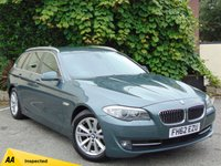 USED 2012 62 BMW 5 SERIES 2.0 520D SE TOURING 5d  * ONE OWNER FROM NEW *