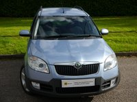 USED 2008 57 SKODA ROOMSTER 1.6 SCOUT 16V 5d AUTO 103 BHP RARE SCOUT AUTOMATIC** £0 DEPOSIT FINANCE