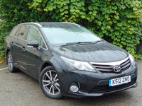 USED 2012 12 TOYOTA AVENSIS 2.0 TR D-4D 5d  STYLISH FAMILY DIESEL