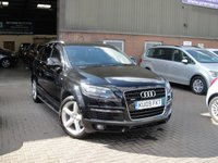 USED 2009 09 AUDI Q7 3.0 TDI QUATTRO S LINE 5d AUTO 240 BHP ANY PART EXCHANGE WELCOME, COUNTRY WIDE DELIVERY ARRANGED, HUGE SPEC