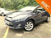 2011 FORD FIESTA 1.4 ZETEC 16V 5 DOOR AUTO ONLY 55K 4 SERVICES  £3695.00