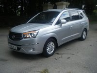 USED 2015 65 SSANGYONG RODIUS TURISMO 2.0 ES 5d 155 BHP 7 SEATS**LEATHER**1 OWNER**SSANGYONG S/HISTORY**HPI