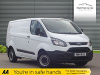 USED 2014 14 FORD TRANSIT CUSTOM 2.2 290 LR P/V 1d 99 BHP ONE OWNER, 3 SEAT, BLUETOOTH
