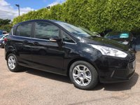 2014 FORD B-MAX 1.4 ZETEC 5dr LOW MILEAGE WITH SERVICE HISTORY  £7750.00
