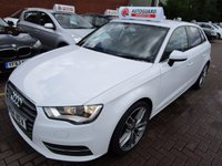USED 2014 14 AUDI A3 2.0 TDI SPORT 5d 148 BHP BE QUICK CHEAPEST IN THE UK