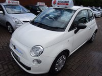 USED 2010 10 FIAT 500 1.2 POP 3d 69 BHP LOW MILES NEW IN