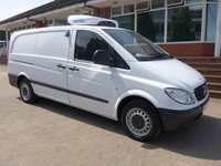 USED 2007 07 MERCEDES-BENZ VITO 111 CDI LONG CHILLER, 110 BHP, 1 FORMER KEEPER