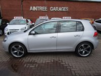 USED 2010 60 VOLKSWAGEN GOLF 2.0 MATCH TDI 5d 138 BHP LOW MILES GREAT SPEC