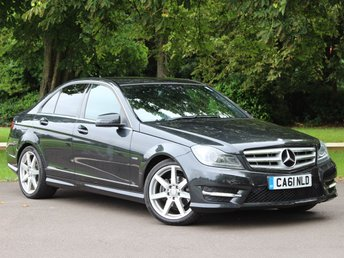 2011 MERCEDES-BENZ C CLASS 1.8 C180 BLUEEFFICIENCY SPORT EDITION 125 4dr AUTO £12900.00
