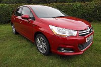 2011 CITROEN C4 1.6 EXCLUSIVE E-HDI AUTO110 BHP FSH-LEATHER HEATED-B/TOOTH £6000.00