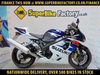 2004 SUZUKI GSXR750 K4  £3491.00