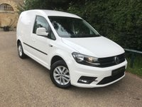 """USED 2016 16 VOLKSWAGEN CADDY 2.0 C20 TDI HIGHLINE 1d 101 BHP TOP SPEC HIGHLINE MODEL, A-CON, 15"""" ALLOYS, B-TOOTH, PARK PILOT, FRONT FOG LIGHTS, HEATED SCREEN, CRUISE CONTROL, ELECTRIC AND HEATED MIRRORS,"""