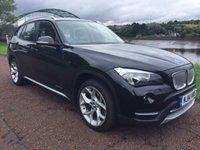 USED 2014 14 BMW X1 2.0 XDRIVE20D XLINE 5d AUTO 181 BHP **X1 X-Drive X-Line**BLACK NEVADA LEATHER**