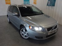 USED 2011 11 VOLVO V50 2.0 D3 SE LUX 5d 148 BHP