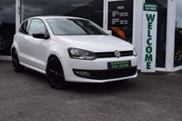 USED 2013 62 VOLKSWAGEN POLO 1.2 MATCH 3d 59 BHP PCP FINANCE FROM ONLY £91.14 pm