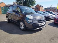 USED 2014 14 FIAT 500L 1.2 MULTIJET POP STAR DUALOGIC 5d AUTO 85 BHP EXCELLENT FUEL ECONOMY!..LOW CO2 EMISSIONS(105G/KM)..£20 ROAD TAX..FULL FIAT HISTORY..WITH PARKING SENSORS, AIR CONDITIONING, AND ALLOY WHEELS