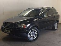 USED 2011 61 VOLVO XC90 2.4 D5 SE AWD 5d AUTO 200 BHP 7 SEATER LEATHER PRIVACY ONE OWNER FSH 4WD. 7 SEATER. STUNNING BLACK MET WITH FULL CREAM LEATHER TRIM. ELECTRIC MEMORY HEATED SEATS. CRUISE CONTROL. 18 INCH ALLOYS. COLOUR CODED TRIMS. PRIVACY GLASS. PARKING SENSORS. BLUETOOTH PREP. CLIMATE CONTROL. R/CD PLAYER. MFSW. MOT 08/18. ONE OWNER FROM NEW. FULL DEALER SERVICE HISTORY. PRISTINE CONDITION. FCA FINANCE APPROVED DEALER. TEL 01937 849492.