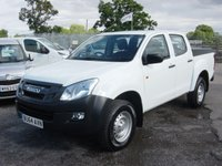 2014 ISUZU D-MAX 2.5 TD DCB 1d 164 BHP DOUBLE CAB PICK UP. £1000 DEPSOIT CONTRIBUTION  £10995.00