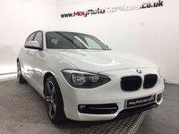 2012 BMW 1 SERIES 2.0 116D SPORT 5d 114 BHP £8995.00