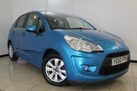 USED 2010 60 CITROEN C3 1.4 VTR PLUS 5DR 72 BHP AIR CONDITIONING + CRUISE CONTROL + RADIO/CD + ELECTRIC WINDOWS + 15 INCH ALLOY WHEELS