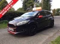 USED 2016 65 FORD FIESTA 1.0 ZETEC S BLACK EDITION 3d 139 BHP ONE OWNER , ONLY 8000 MILES , FULL SERVICE HISTORY.