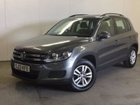 USED 2013 13 VOLKSWAGEN TIGUAN 2.0 S TDI BLUEMOTION TECHNOLOGY 4MOTION 5d 138 BHP FACELIFT ONE OWNER FSH 4WD FACELIFT MODEL. STUNNING GREY MET WITH BLACK CLOTH TRIM. CRUISE CONTROL. 16 INCH ALLOYS. COLOUR CODED TRIMS. PARKING SENSORS. BLUETOOTH PREP. MULTIMEDIA SCREEN. CLIMATE CONTROL. TRIP COMPUTER. R/CD/MP3 PLAYER. 6 SPEED MANUAL. MOT 02/18. ONE OWNER FROM NEW. FULL SERVICE HISTORY. PRISTINE CONDITION. FCA FINANCE APPROVED DEALER. TEL: 01937 849492.