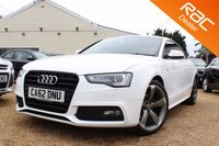 USED 2013 62 AUDI A5 2.0 TDI S LINE BLACK EDITION 2d AUTO 177 BHP Bluetooth, Bang & olufsen